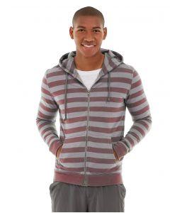 Ajax Full-Zip Sweatshirt -XS-Red