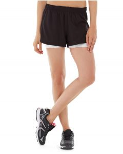 Ana Running Short-28-White